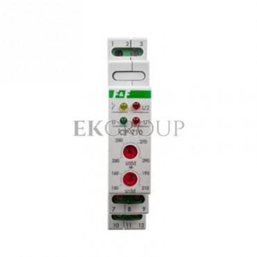 Przekaźnik kontroli napięcia 1-fazowy 3x(50-450V) N 1P 8A 150-210V/230-260V AC CP-710-101862