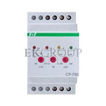 Przekaźnik kontroli napięcia 3-fazowy 1P 10A 150-210/230-260V AC CP-730-101851