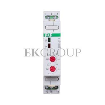 Przekaźnik kontroli prądu 1-fazowy 0,6-16A AC 1P 0,5-10sek EPP-619-101955