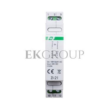 Zasilacz impulsowy 100-264VAC/DC/24VDC 12W 0,5A ZI-21-118217