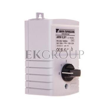 Regulator prędkości obrotowej 1-fazowy ARW 0,5/1 230V 0,5A IP54 17886-9962-116444