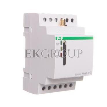 Przekaźnik zdalnego sterowania GSM (SMS) 2xwy/2xwe załącz/wyłącz/powiadomienie SIMply MAX P01-115901