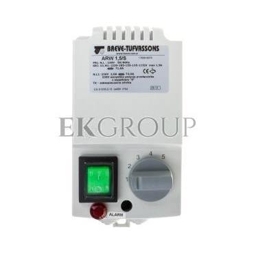 Regulator prędkości obrotowej 1-fazowy ARW 1,5/S 230V 1,5A IP54 /z wejściem czujnika termicznego silnika/ 17886-9974-116445