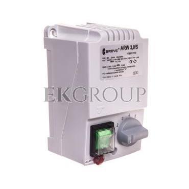 Regulator prędkości obrotowej 1-fazowy ARW 3,0/S 230V 3A IP54 /z wejściem czujnika termicznego silnika/ 17886-9958-116451