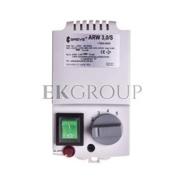 Regulator prędkości obrotowej 1-fazowy ARW 3,0/S 230V 3A IP54 /z wejściem czujnika termicznego silnika/ 17886-9958-116452