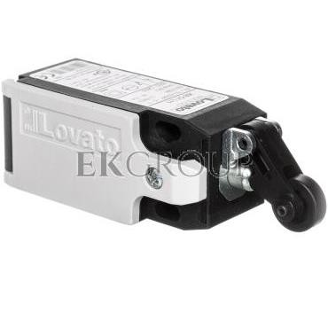 Wyłącznik krańcowy 1R 1Z wolnoprzełączający dźwignia z rolką plastikową tworzywo KBC1L11-118134