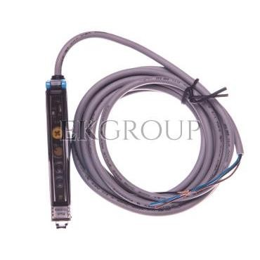 Czujnik fotoelektryczny 0-160mm 10,5x35,5x83,7mm 10-30V DC PNP przewód 3-żyły 2m 2000Hz półprzewodnikowy WLL170-2P132 6029511-11
