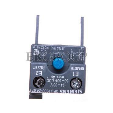 Moduł do zdalnego kasowania do przekaźników przeciążeniowych 24-30V AC/DC S00-S12 3RU1900-2AB71-114612