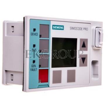 Terminal operatorski z wyświetlaczem tablicowy 96x60x44mm 3UF7210-1AA00-0-115445