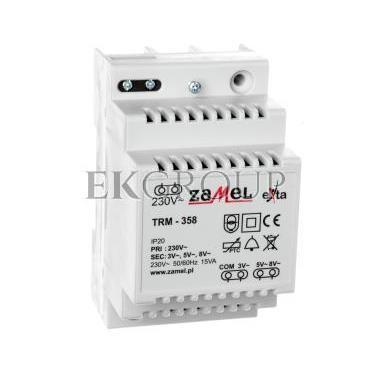 Transformator 230/3/5/8V AC 15VA TRM-358 EXT10000138-116855