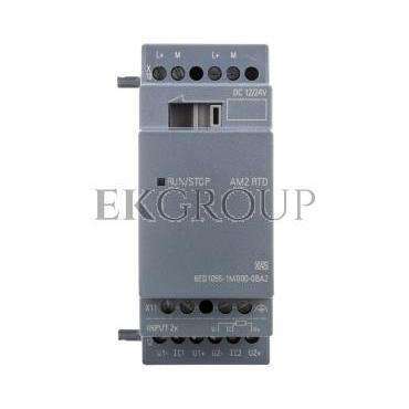 Moduł rozszerzeń 2AI 12/24V DC PT100/1000 LOGO! AM2 6ED1055-1MD00-0BA2-115339