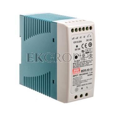 Zasilacz impulsowy 85-264V AC/ 3,33 12V DC 40W MDR-40-12-118496