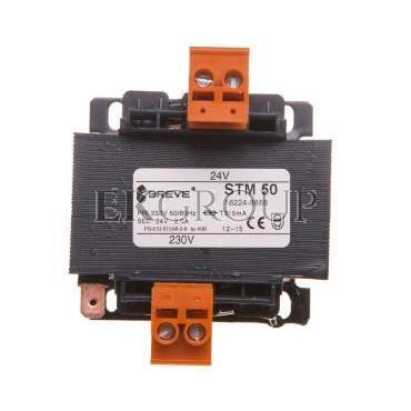 Transformator 1-fazowy STM 50VA 230/24V 16224-9888-117280
