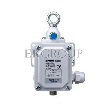 Wyłącznik cięgnowy /STOP/ 1Z 1R 120N z przyciskiem kasującym P2L131312-117334