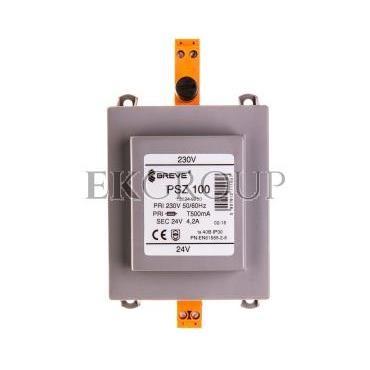 Transformator 1-fazowy PSZ 100VA 230/24V /na szynę/ 16024-9950-117178