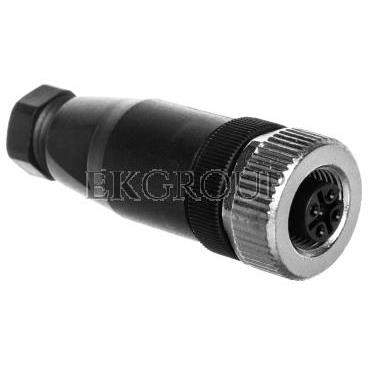 Gniazdo proste 4P M12 Pg7 4-6mm SACC-M12FS-4CON-PG7-M 1681127-116282