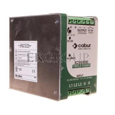 Zasilacz impulsowy CSG500C 360-550V AC/24V DC 20A XCSG500C-118539