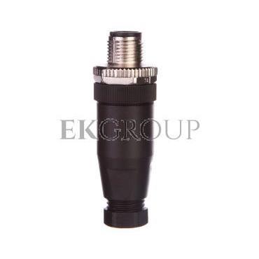 Złącze wtykowe proste 5P M12 kod A Pg7 4-6mm SACC-M12MS-5CON-PG 7-M 1663116-116295