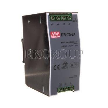 Zasilacz impulsowy 85-264V AC/ 24V DC 3,2A 76,8W DR-75-24-118483