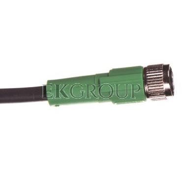 Kabel do czujnika 3P 5m wolny koniec przewodu gniazdo proste M8 SAC-3P- 5,0-PUR/M 8FS 1669628-116272