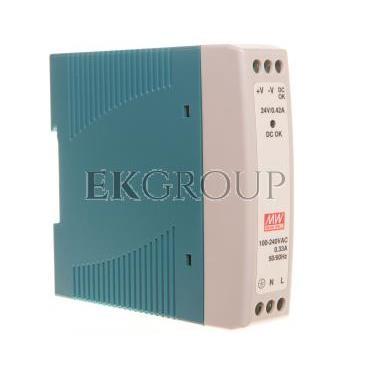 Zasilacz impulsowy 85-264V AC/ 0,42A 24V DC 10W MDR-10-24-118487