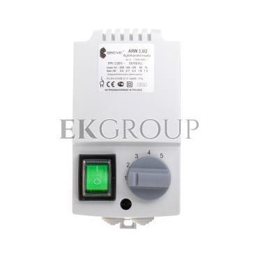 Regulator prędkości obrotowej 1-fazowy ARW 3,0/2 230V 3A IP54 17886-9991-116447