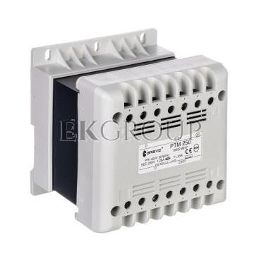 Transformator 1-fazowy PTM 250VA 400/230V /na szynę/ 16052-9947-117180