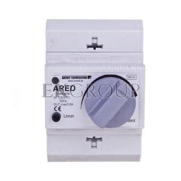 Regulator prędkości obrotowej 1-fazowy ARED 3,0 230V 3A /na szynę TH/ 17886-9956-116438