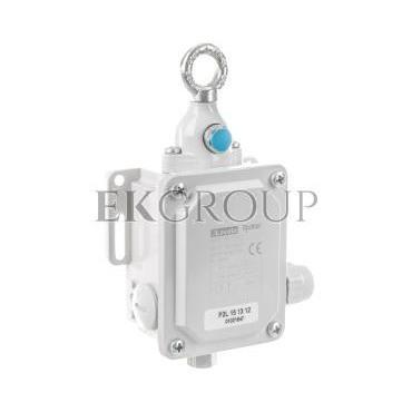 Wyłącznik cięgnowy 2Z 2R 120N z przyciskiem kasującym P2L151312-117340