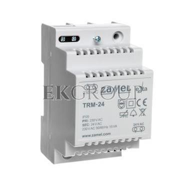 Transformator 230/24VAC 15VA IP20 TH35 TRM-24 EXT10000137-117268