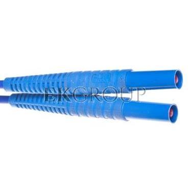 Przewód pomiarowy 5m niebieski /wtyki bananowe/ WAPRZ005BUBB-114494