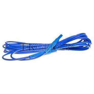 Przewód pomiarowy 5m niebieski /wtyki bananowe/ WAPRZ005BUBB-114495
