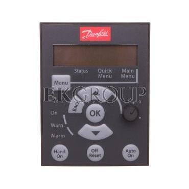 Panel sterujący do falowników VLT Micro Drive LCP 12 z potencjometrem 132B0101-115725