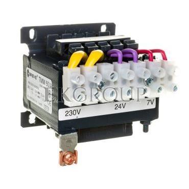 Transformator 1-fazowy TMM 50VA 230/24V-7V 16280-9985-117289