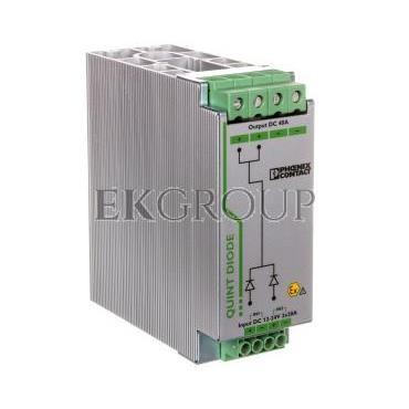 Moduł diodowy szyn nośnych 12-24V DC/2x20A lub 1x40A DIN 2320157-115681
