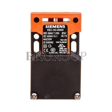 Wyłącznik krańcowy bezpieczeństwa 1Z 1R migowy bez napędu wpust kablowy 3xM20x1,5 IP65 3SE2243-0XX40-118140