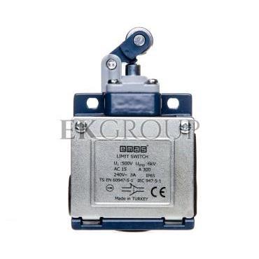Wyłącznik krańcowy 1Z 1R popychacz z dźwignią z rolką metalową T0-L53K13MIM311-117980