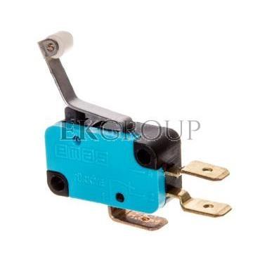 Wyłącznik krańcowy miniaturowy 1R 1Z dźwignia podgięta z rolką z tworzywa T0-MK1MIP3-117998
