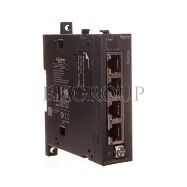 Moduł sieciowy Ethernet switch TM4 Modicon TM4ES4-114760
