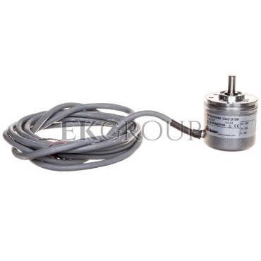 Enkoder inkrementalny wałek 6mm push-pull 10-30VDC przewód 2 metry rozdzielczość 100 imp./obr. 8.KIS40.1342.0100-115817