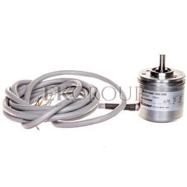 Enkoder inkrementalny wałek 6mm push-pull 10-30VDC przewód 2 metry rozdzielczość 1000 imp./obr. 8.KIS40.1342.1000-115819