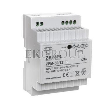 Zasilacz impulsowy TH-35 30W 12V DC ZPM-30/12 EXT10000208-118413