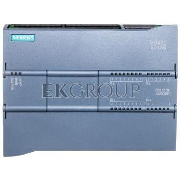 Moduł podstawowy PLC Profinet 2xRJ45 14we 10wy cyfr. 2we 2wy analog. 120/230V AC SIMATIC S7-1200 CPU 1215C 6ES7215-1BG40-0XB0-11