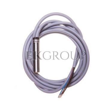 Czujnik indukcyjny M12 Sn=4mm 10-30V DC PNP 1Z 3-przewodowy (2m) BI4-M12-AP6X 4607006-114207