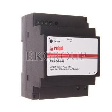 Zasilacz impulsowy 90-264V AC 24V DC 2,5A 60W RZI60-24-M 2615399-118452
