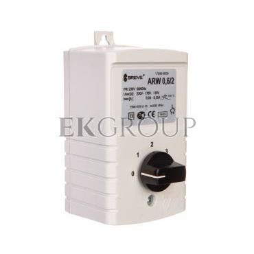 Regulator prędkości obrotowej 1-fazowy ARW 0,6/2 230V 0,6A IP54  17886-9938-116465
