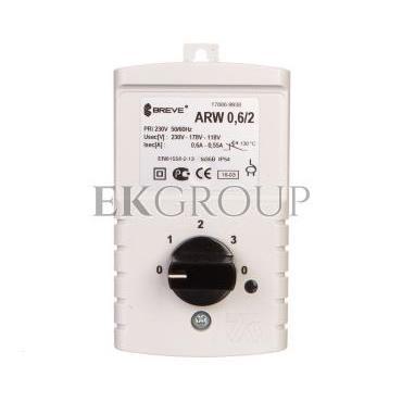 Regulator prędkości obrotowej 1-fazowy ARW 0,6/2 230V 0,6A IP54  17886-9938-116466