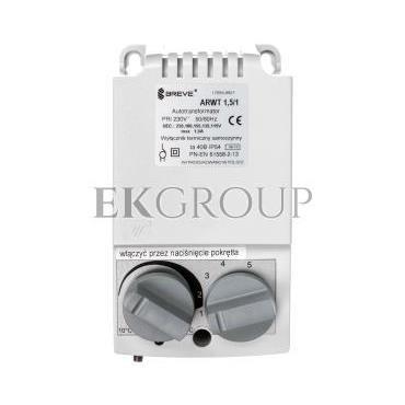Regulator prędkości obrotowej 1-fazowy ARWT 1.5/1 230V 1,5A /z termostatem/ 17886-9921-116468