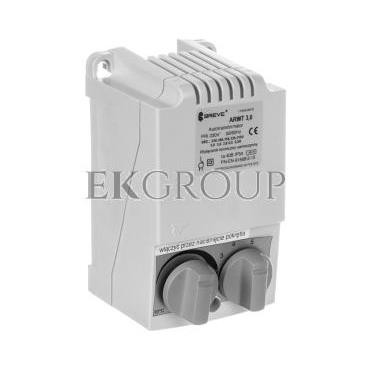 Regulator prędkości obrotowej 1-fazowy ARWT 3.0/1 230V 3A /z termostatem/ 17886-9919-116469