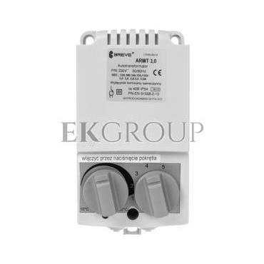 Regulator prędkości obrotowej 1-fazowy ARWT 3.0/1 230V 3A /z termostatem/ 17886-9919-116470